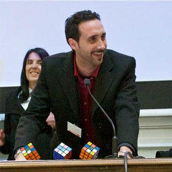 Luigi Sciolti durante un convegno Google AdWords